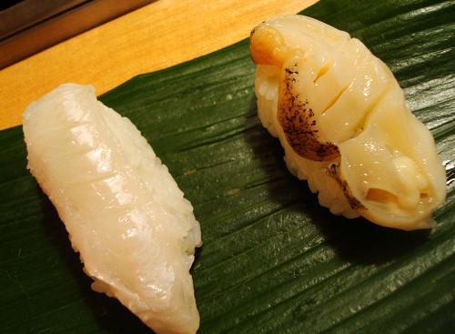 みる貝と白身