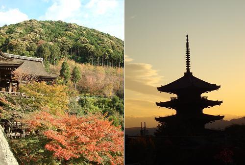 清水寺・五重の塔