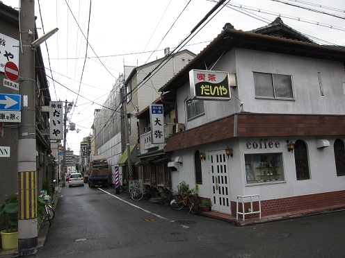 東本願寺そば