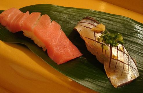 中トロ・秋刀魚