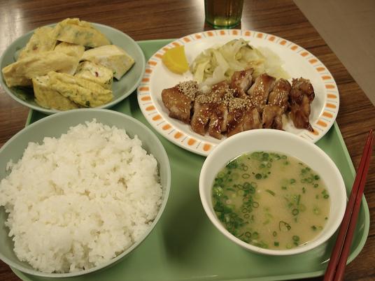 チキン照り焼き定食
