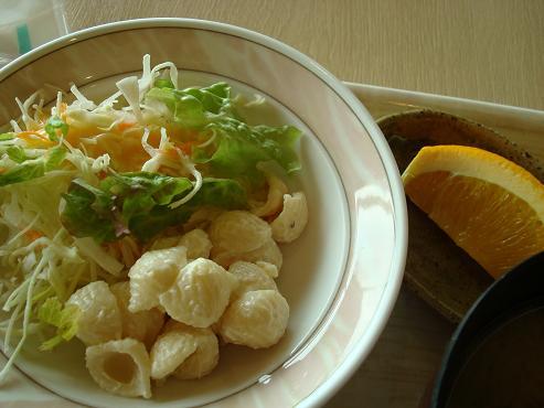 サラダ・フルーツ
