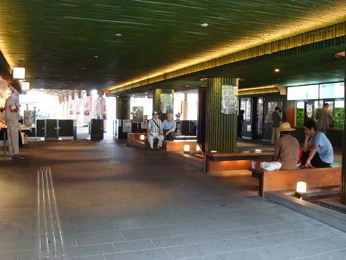 嵐山駅構内