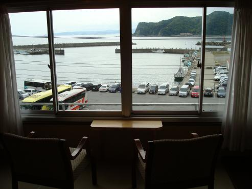海の見える客室