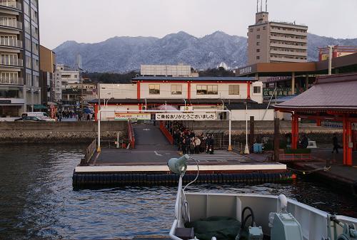 宮島口桟橋